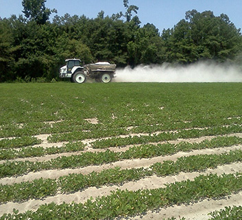 Organic Certification Services NC - Field zone soil sampling
